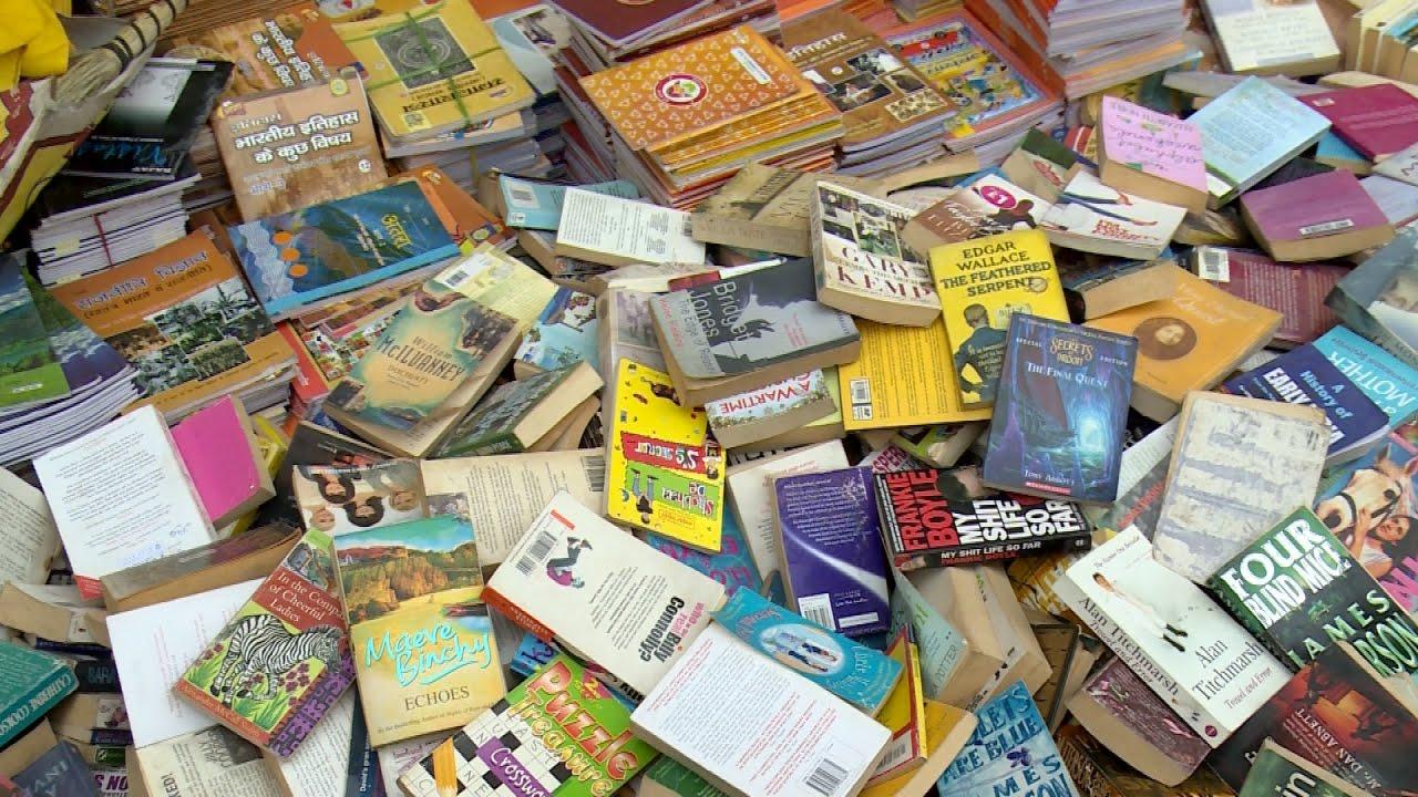 BOOK MARKET OLD DELHI