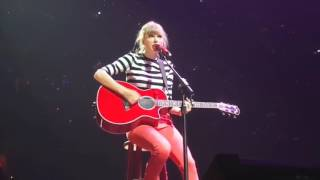 Taylor Swift: The RED Tour DVD - Never Grow Up  Live In Washington