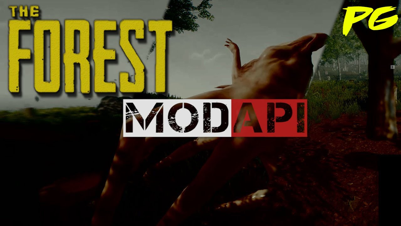 the forest how to install mods