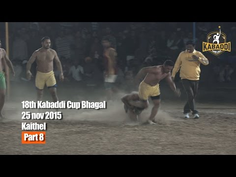 18th Kabaddi Cup Bhagal Kaithal(HR)Part 8 day2