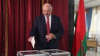 Лукашенко проголосовал на парламентских выборах / Видео