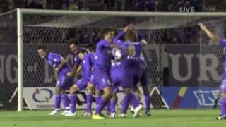 ナビスコ準決勝第一戦 Sanfrecce HIROSHIMA A goal celebration at the ...