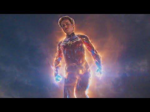 Капитан Марвел приходит на Помощь. Мстители: Финал. 2019