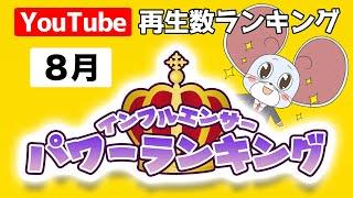 【再生数ランキング】2020年8月に最も再生されたYouTube動画ランキング!第一位は・・?!【日本・国内】