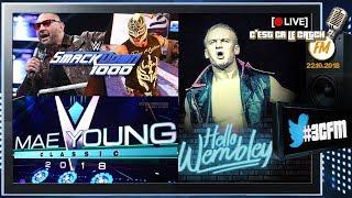 [3CFM Live] Mae Young Classic 2018 / Progress Wrestling
