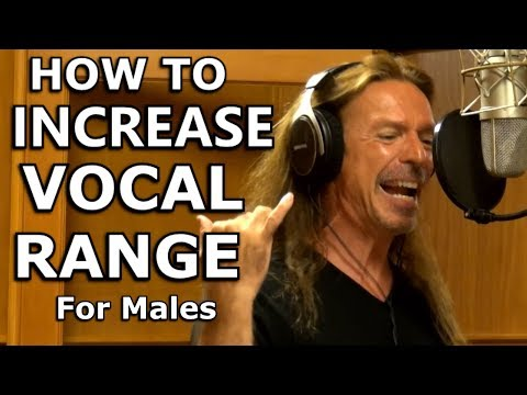 How To Increase Vocal Range For Males - COMPLETE - Ken Tamplin Vocal Academy