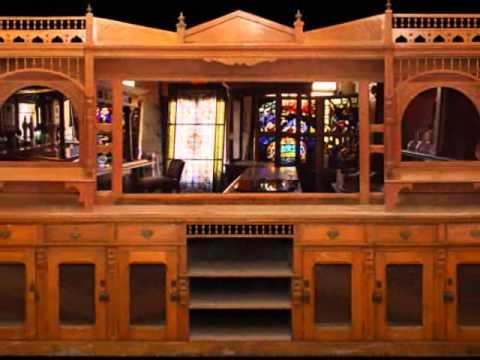 Antique bars, Antique Mantels, Antique Doors, Antique Pub Decor Tour
