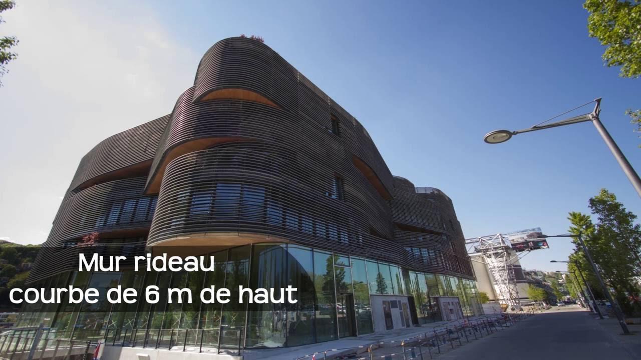 Time Lapse Du Pavillon 52 Rudy Ricciotti Groupe Cardinal Youtube