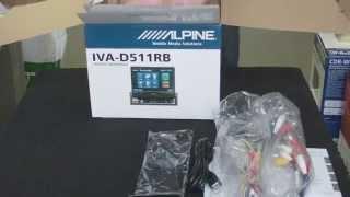 Обзор медиастанции Alpine IVA-D511RB