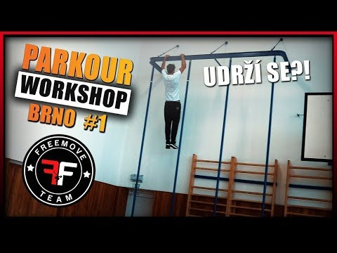 ŠÍLENÝ PARKOUR WORKSHOP V BRNĚ?! | FREEMOVE