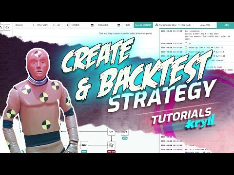 Create & Backtest a Strategy - Kryll How-to