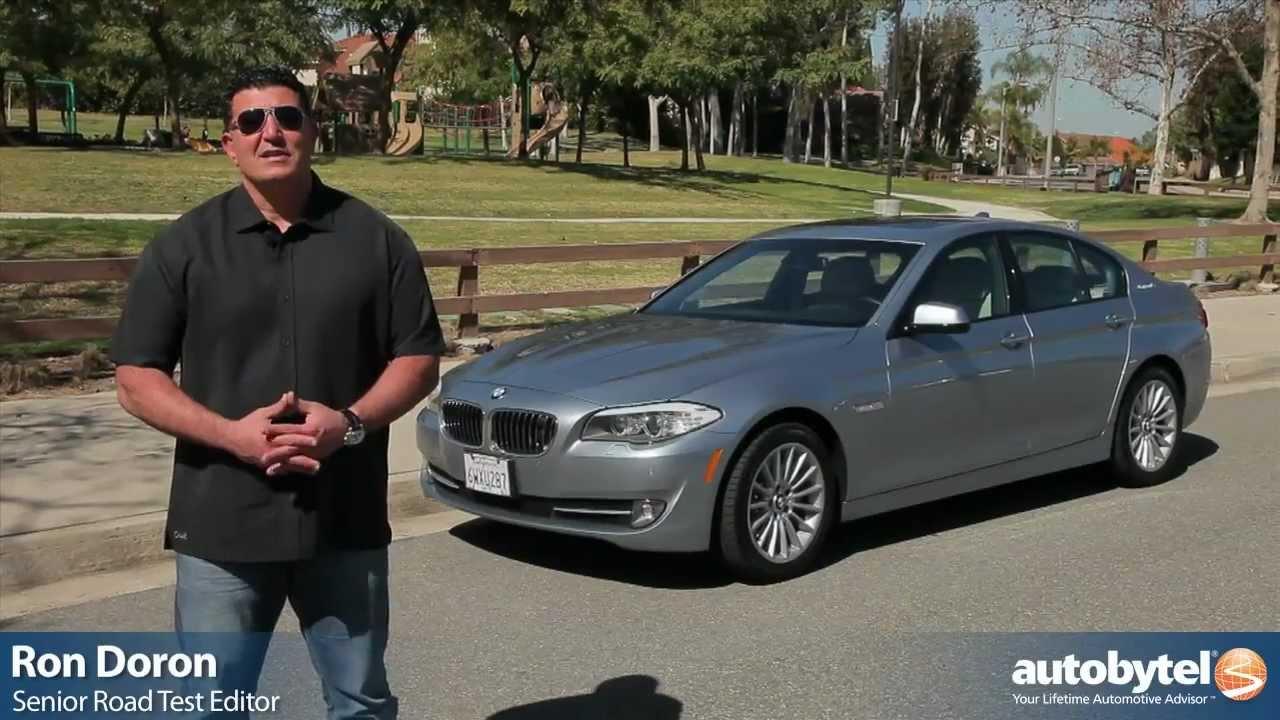 2013 BMW ActiveHybrid 5 Test Drive - 5-Series Hybrid Luxury Car ...