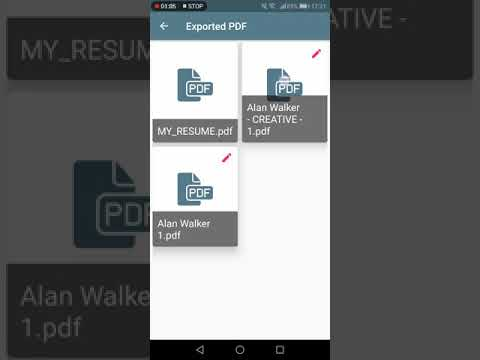 How To Export Your Resume As PDF - Resume Builder App Tutorial