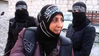 Repeat youtube video Meet Syria's extremist female fighters / ©TraceyShelton2013 (All Rights Reserved)