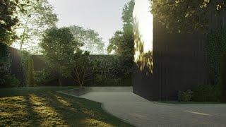 Уроки 3Ds max. Работа над озеленением сцены. Деревья. Трава.