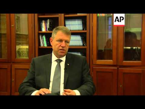 Interview with presidential candidate Klaus Iohannis ahead of weekend election