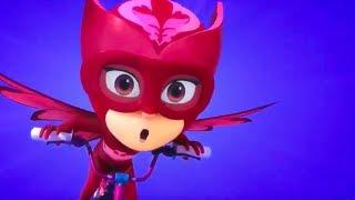 Герои в масках Алетт спасает свой корабль мультики для детей
