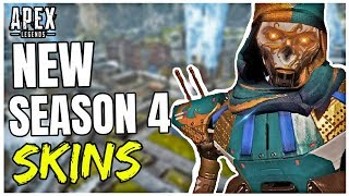 Apex Season 4 NEW SKINS COMING! - New EXCLUSIVE Skins, Collection Event + More
