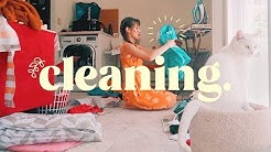 Cleaning, Thrifting, & Packing