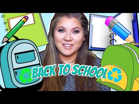 Back To School Essentials | Zero Waste & Eco-Friendly Swaps