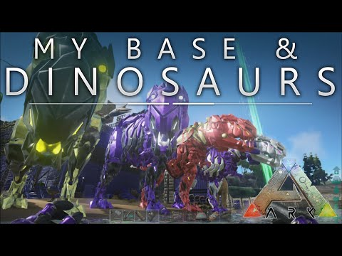 Ark Survival Evolved - Xbox One / My Base & Dinosaurs