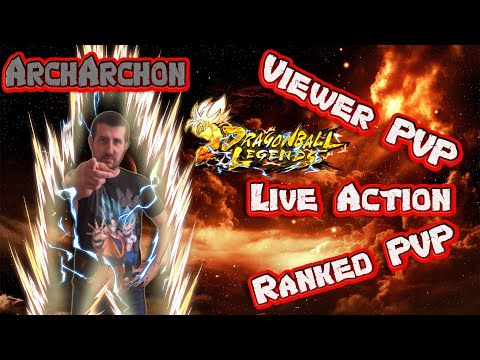 Dragon Ball Legends Live - Viewer And Ranked PVP
