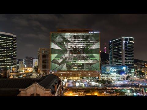 Heineken | New Can media façade South Korea