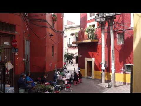 Street Food And Old Taverns In Guanajuato, The Most Beautiful City In Mexico