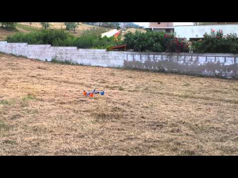 Quadricottero Con Scheda Kk E Schianto Doovi
