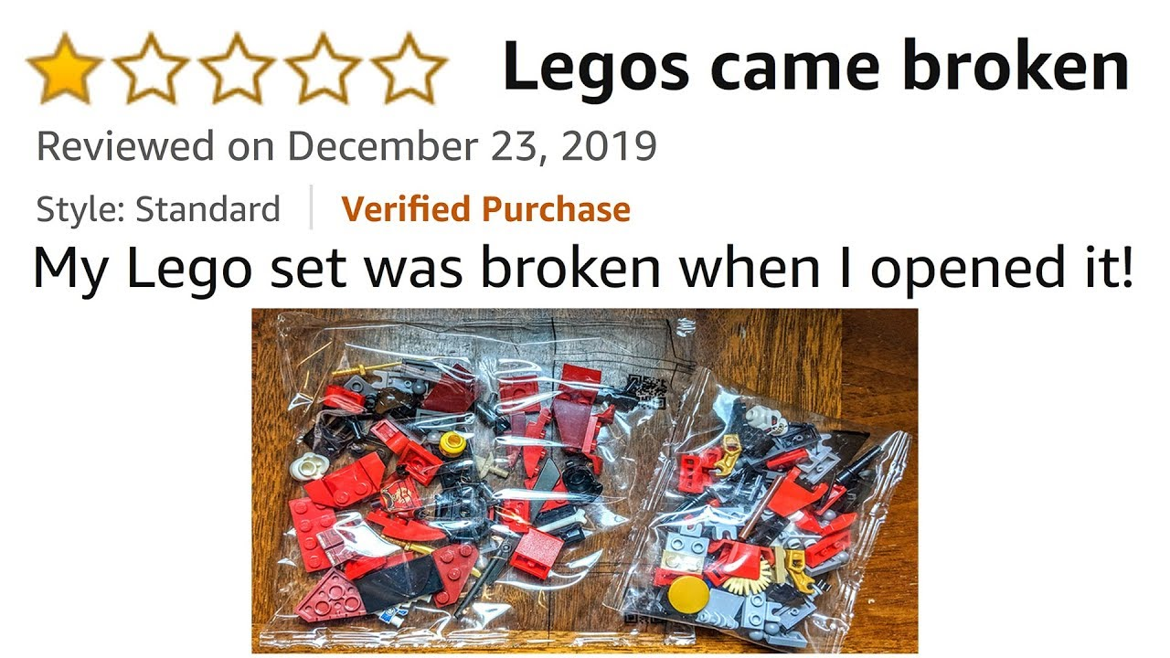 Download Ridiculous 1 Star LEGO Reviews on Amazon! *FUNNY*