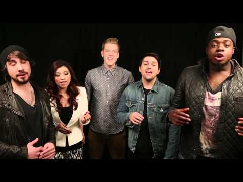 "Pentatonix Perform ""Angels We Have Heard On High"""