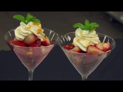 Strawberry Romanoff Recipe | Overland Park Convention Center