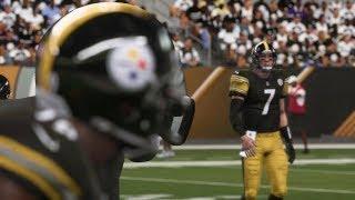 NFL Sunday Night Football 9/30 Baltimore Ravens vs Pittsburgh Steelers NFL Week 4 | Madden 19