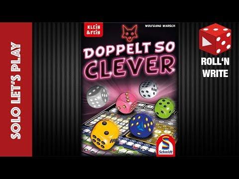 Doppelt so Clever - Solo Let's Play (Wolfgang Warsch, Schmidt Spiele 2019)