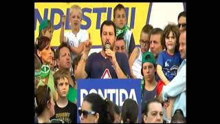 #Pontida 2015 - Intervento di Matteo #Salvini