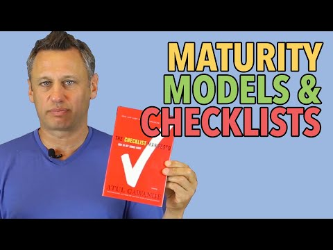 maturity-models-and-checklists