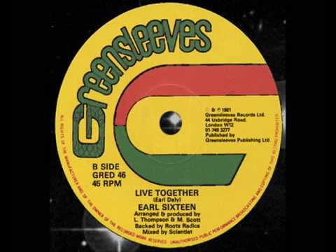 "Earl Sixteen - Live Together 12"" (B)  1981"