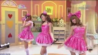 Orange Caramel (오렌지캬라멜) - Magic Girl - SBS Inkigayo 100620 (…