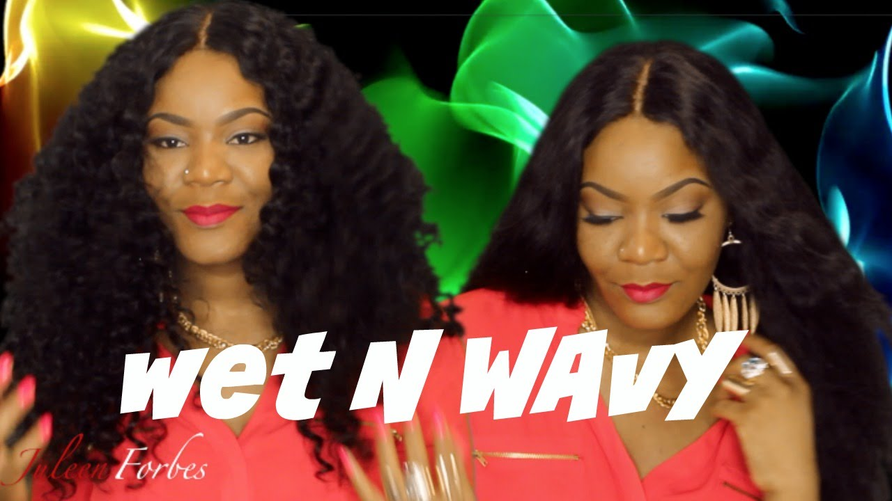 WET Amp WAVY SHAKE N GO 7 Pcs DEEP WAVE YouTube