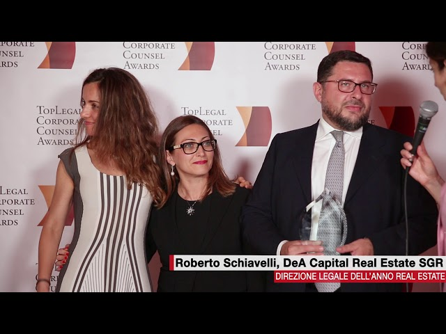 Roberto Schiavelli, DeA Capital Real Estate SGR - TopLegal Corporate Counsel Awards 2018