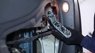 VW SHARAN (7M8, 7M9, 7M6) hátsó és első Kerékcsapágy szerelési: ingyenes videó