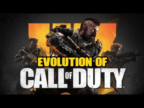Graphical Evolution of Call of Duty (2003-2018) thumbnail