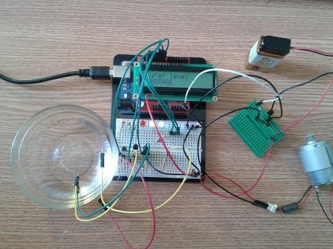 Arduino Water Level Indicator