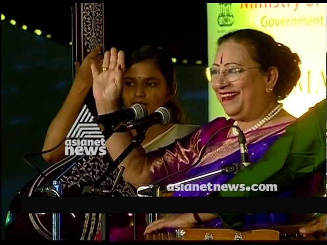 Begum Parveen Sultana's performance at Kochi