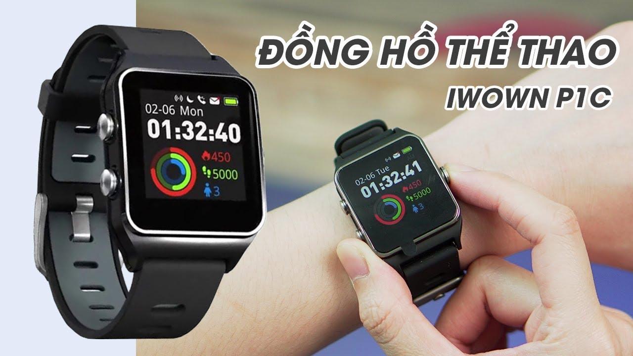 IWOWN P1C l Đồng hồ thể thao thông minh hỗ trợ GPS !!