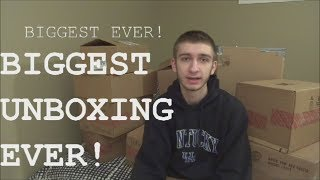 Biggest Sneaker Unboxing in YouTube History