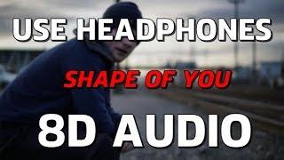 (3D Audio) Ed Sheeran - Shape of You  - Virtual 360 Audio | 8D GAANE