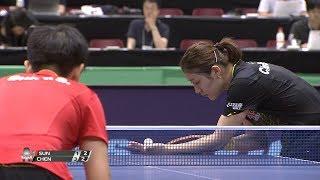 女子シングルス決勝 孫穎莎(中国)vs 陳夢(中国)第5ゲーム