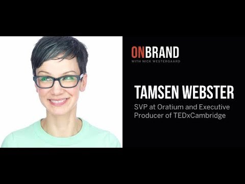 Interview with Professional TEDx Speaker, Tamsen Webster