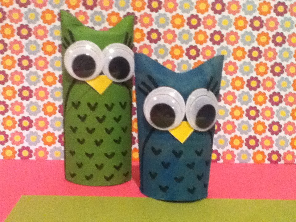 Diy Toilet Paper Roll Owls Youtube